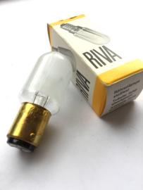 Nr. R247  RIVA lamp 230V 15W  R 22x57 mat