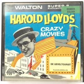 Nr.7294 --Super 8 silent-- Harold Lloyd de Geveltourist op 50 meter spoel zwartwit silent  op spoel en in orginele doos