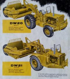 Nr.16375 --16mm-- CAT DW-21 tractor van Caterpillar zeer interesant promotiefilmpje uit de jaren'60 speelduur 9 minuten mooi van kleur en Engels gesproken