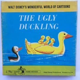 Nr.7182 Super 8  -- The Ugly Duckling Walt Disney, ongeveer 50 meter zwartwit silent op spoel en in orginele doos, Engels geluid