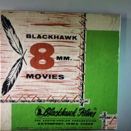 Nr.6759 -Super 8 Silent-- Focus on steam in mid Amerika.film over stoomtreinen  ca 50 meter zwartwit silent, in orginele doos