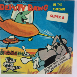 Nr.6788 --Super 8 Silent - Deputy Dawk in the Astronut, ca 45 meter zwartwit Silent, in orginele doos
