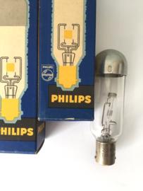 Nr. R157 PHILIPS projectie lamp Ba15s 33V / 100W Ph. 6159N/05 lampvoet onder