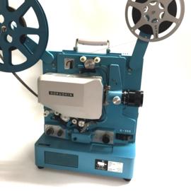 Nr.8183 -16mm- Hokushin X350 meteen 350 watt xenonlamp,  20watt versterker, optisch/mag.geluid,600 meter spoelen, zoomlens, deze projector heeft service beurt gehad en is in nieuwstaat, wordt niet verstuurd, alleen ophalen