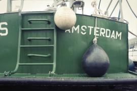 Nr.16242 --16mm-- Amsterdam haven 1965, operatie Zinker, mooie zwartwit documentaire vervaardigd door de plaatwellerij te Velzen en machine fabriek Voorwaarts te Amsterdam, speelduur 15 minuten zwartwit Nederlands gesproken