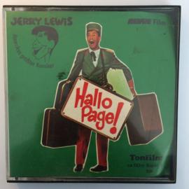 Nr.6615 --Super 8 Sound, Hallo Page, Jerry Lewis, Zwartwit Duits gesproken speelduur ongeveer 18 minuten (120m.), in orginele fabrieks doos