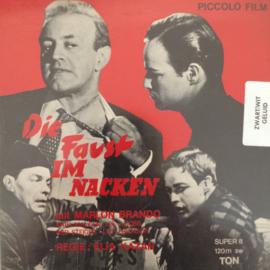 Nr.6626--Super 8 SOUND,Die Faust im Nacken, zwartwit met Duits geluid, speelduur ongeveer 18 minuten (120m.), in orginele fabrieks doos