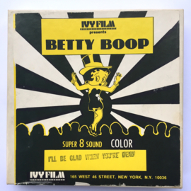 Nr.6874 --Super 8 Sound --Betty BoopI'll be glad when you're dead, 45 meter  kleur Engels geluid in orginele doos