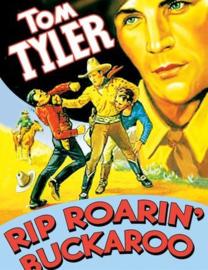 Nr.2138 -- 16mm -- Rip Roarin' Buckaroo (1936) Tom Tyler,orgineel  zwartwit van goede kwaliteit, Engels gesproken met Nederlandse ondertitels speelduur 51 minuten, compleet met begin en end titels