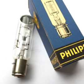 Nr. R335 -- Philips projectielamp 110V-750W  6.8A Typ 6153C/05  - P28s lampvoet onder