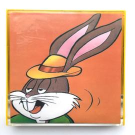 Nr.7232 --Super 8 Sound Bugs Bunny People are Bunny Warner Bros, ongeveer 60 meter kleur met Engels  geluid op spoel en in orginele doos