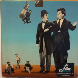 Nr.1217 --9,5mm speelfilm-- Max a Um Duel, comedy org.Frans , zwartwit silent bestaat uit 1 deel van ca.120 meter in orginele Film Office dozen