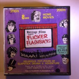 Nr.6814 --Super 8 Sound-- Flicker Flashbacks  60 meter zwartwit met geluid in orginele doos