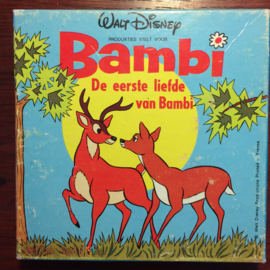 Nr.6690 -- Super 8 SOUND -- Walt Disney's Bambi De eerste liefde van Bambi, mooi van kleur en Nederlands gesproken ongeveer 45 meter in orginele doos