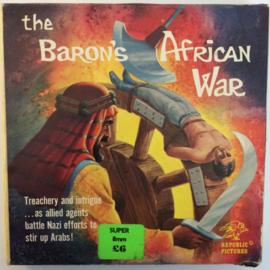 D320 --Super 8-- The Baron's African War, zwartwit silent 60 meter in orginele fabrieks doos