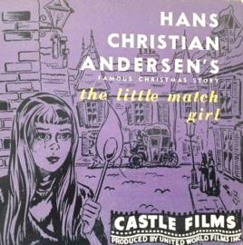 H097 --16mm-- The Little match girl, Castle film, zwartwit Engels gesproken,compleet op spoel en in doos