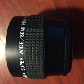 Nr. LE-105 -- Combex Super wide/ semi Fish-eye Lens made in Japan