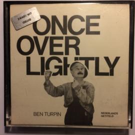 Nr.6613 --Super 8 sound-- Once over Lightly, Ben Turpin zwartwit Engels gesproken met Nederlandse ondertitels 120 meter in orginele doos