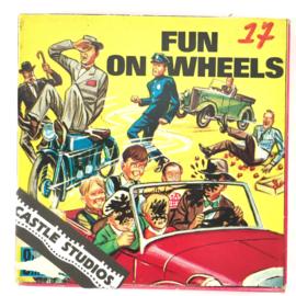 Nr.7029 --Super 8 Silent - Fun on Wheels, goede kwaliteit zwartwit Silent ca 60 meter  in orginele doos