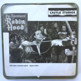 Nr.7010 --Super 8 silent -- The Adventures van Robin Hood  ca 120 meter zwartwit, redelijke tot goede  copy in orginele doos