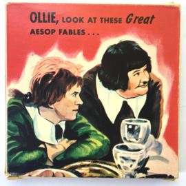 Nr.7052 --Super 8 Silent - Laurel&Hardy in Come Clean, goede kwaliteit zwartwit Silent ca 60 meter  in orginele doos
