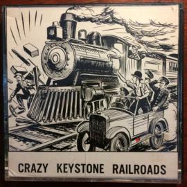 Nr.6605 - Super 8 silent ,, The Grazy Keystone Railroads,, 90 meter zwartwit Silent in orginele doos