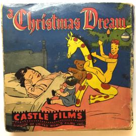 Nr.16324 -- 16 mm -- Castle film, Christmas Dream, complete edition, prachtige zwartwit film lengte ongeveer 120 meter orginele Castle film, zwartwit silent, compleet met begin/end titels in orginele doos