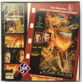 Nr.6905 --Super 8 sound-- Flammendes Inferno , 120 meter kleur met Duits geluid in doos
