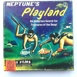 Nr.6876 --Super 8 Sound --Castle film Neptunes Playland, 60 meter zwartwit Engels geluid in orginele doos