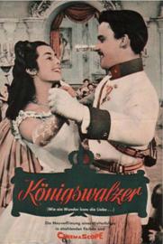 Nr. H6021 - Super 8  SOUND - Königswalzer (1955) West-Duitsland de COMPLETE film  van 93 minuten  geregisseerd door Viktor Tourjansky bestaat uit 5 reels a 120 meter zwartwit orgineel Duits gesproken