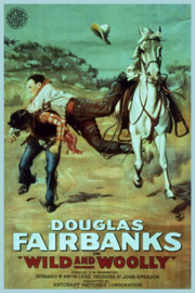 Nr. H6032 - Super 8 - Wild and Woolly (1917)Douglas Fairbanks de COMPLETE film speelduur 71 minuten | Comedy, Western, Romance | 24 June 1917 (USA)