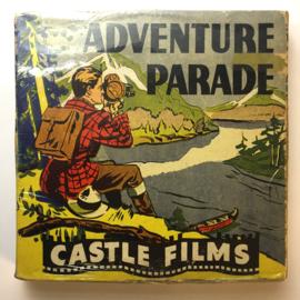 Nr.16328 -- 16 mm -- Castle film, Three Bruins Great Adventure, complete edition, prachtige zwartwit film lengte ongeveer 120 meter orginele Castle film, zwartwit silent, compleet met begin/end titels in orginele doos