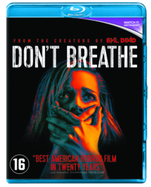Don't Breathe best American Horror film in twenty Years. (Blu-ray disk)