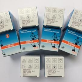 Nr. R121 Osram Xenophot /Philips 24 volt 250 W ELC GX5,3 met spiegel voor de meeste 16mm projectoren
