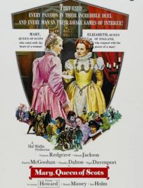 Nr.2122 --16mm--  Mary, Queen of Scots (1971) Biografie/ Historisch  speelduur 128 minuten, goed van kleur, Engels gesproken , compleet met begin/end titels, op 3 spoelen en in doos