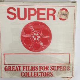 Nr.6715 -- Super 8 GELUID-- The Bug Stoomlocomotief 1927, Romney Hythe & Dymchurch golden jubileem op 60 meter spoel  Kleur Engels gesprokenin orginele fabrieks doos