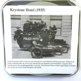 Nr.7015 --Super 8 silent -- Keystone Hotel 1935  ca 120 meter zwartwit silent,  goede zwartwit copy in orginele doos