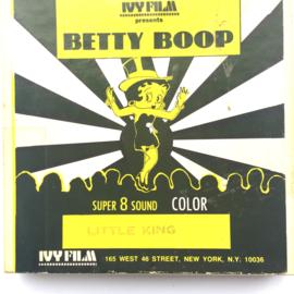 Nr.6902 --Super 8 Sound, Betty Boop Litle King, 60 meter  kleur met Engels geluid, in de orginele doos