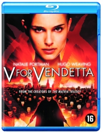 V for Vendetta blu ray