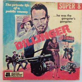 D332 --Super 8-- Dillinger, zwartwit silent 60 meter in orginele fabrieks doos