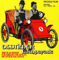 Nr.6620- Super 8 silent -- Oldtimer Lachparade met chaplin/Laurel & Hardy Buster Keaton zwartwit silent 120 meter