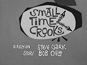 Nr.16494 --16MM-- Dick Tracy Small Time Crooks, tekenfilm mooi  zwartwit Engels gesproken, speelduur 10 min. op spoel en in doos, compleet met begin/end titels