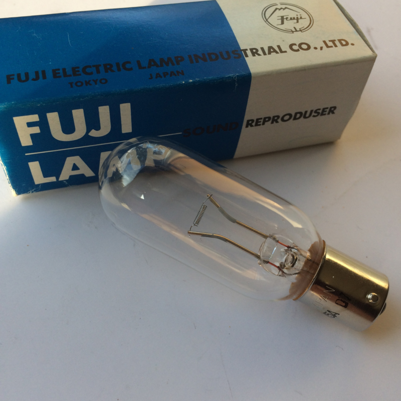 Nr. R176 Fuji Sound Reproduser lamp BXR  10 volt 5A toonlamp