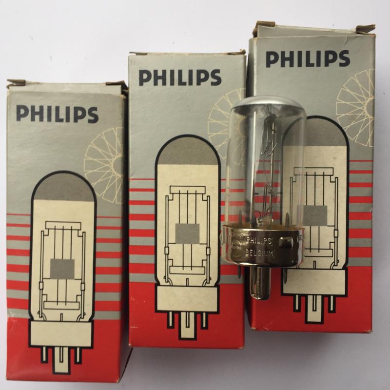 Nr. R212  Philips projectie Lamp G17Q,  230V - 150W, nr. 6284C/05, SYL-182, Osram: 58.8295 bwX