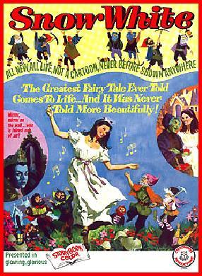 Nr.16307 --16mm-- Snow White and the Seven Dwarfs (1955)speelfilm -  speelduur 76 minuten   kleur en in het Nederlands  nagesyngroniseerd , de liedjes zijn wel in het Engels gezongen, compleet met begin/end titels