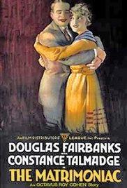 Nr.2024 - Dubbel 8 - The Matrimaniac (1916)  Douglas Fairbanks de COMPLETE film speelduur 44min   Short, Comedy, Romance   16 December 1916 (USA) zwartwit orgineel silent 2 reels a 120m. een Blackhawkfilm