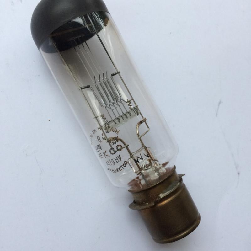 Nr. R167 projectielamp EKCO A1/9HV  P28s, 220 volt, 750W