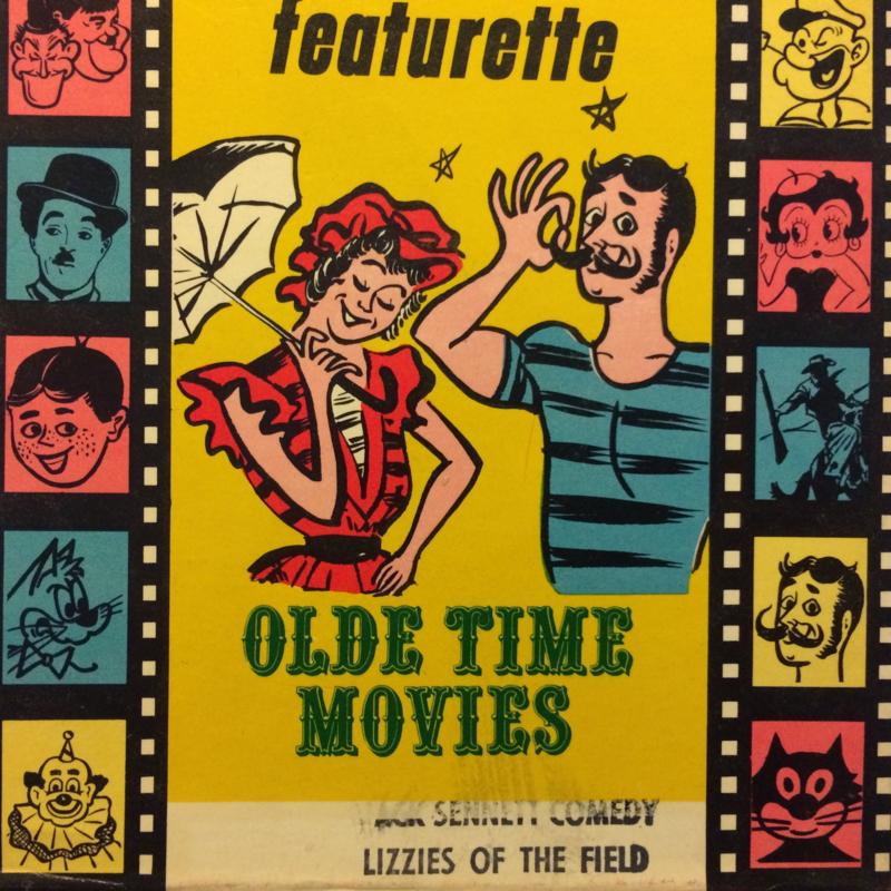 Nr.1548 --Dubbel 8 Silent--Lizzies of the field , Mack Sennett comedy,  60 meter zwartwit silent, zit in de orginele fabrieks doos