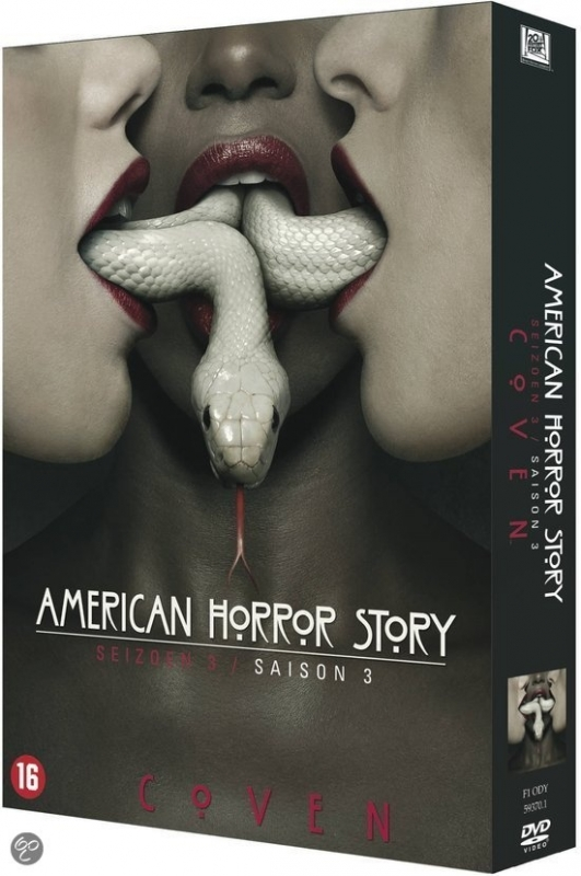 op Blu-ray American Horror Story, seizoen 3 - 2014, speelduur 570 min. 3 discs Blu ray