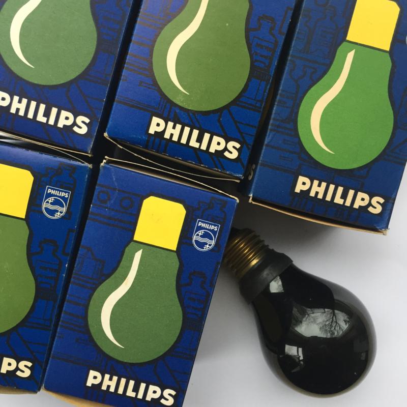 Nr. R210 PHILIPS Darkroom/Dokalamp 220 v. groen E27-  type PF711E